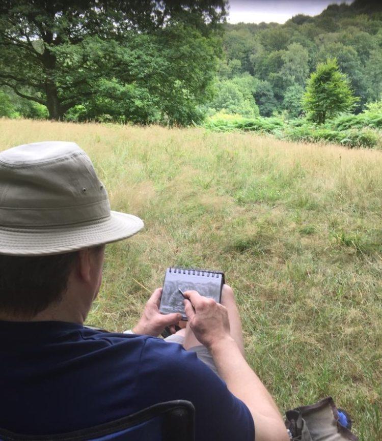 Corne Akkers drawing Beek - 21-07-19