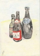 realistic still life colored pencil drawing thumbnail