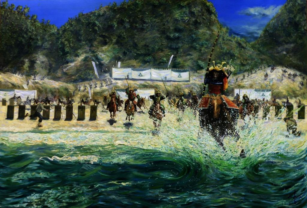 realistic landscape oil painting