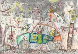 thumnail of a child's drawing by Corne Akkers