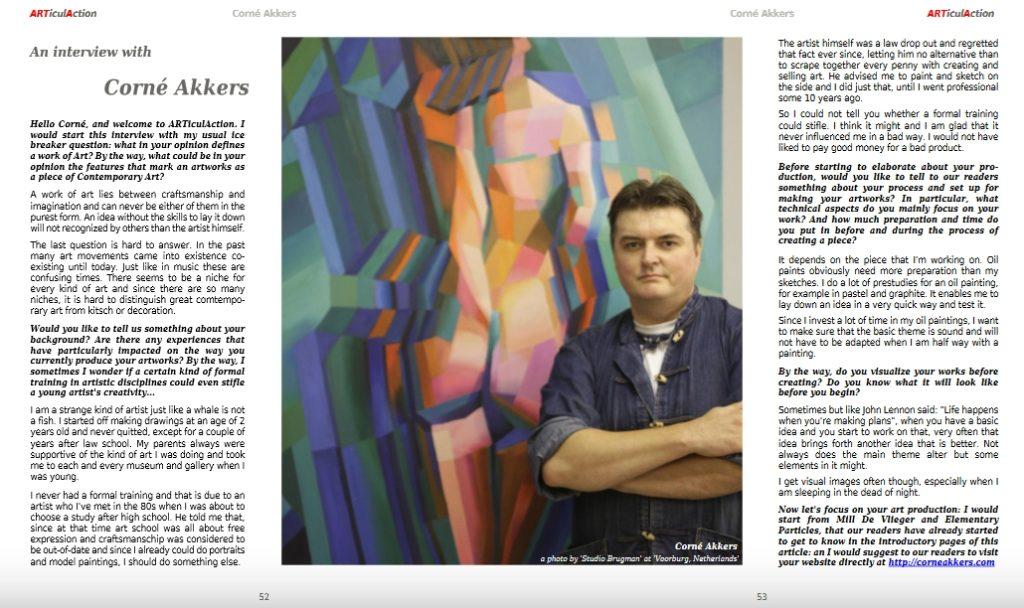Art work publicity