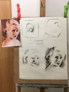 instructions for portrait sketching