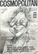 Caricature graphite pencil drawing thumbnail
