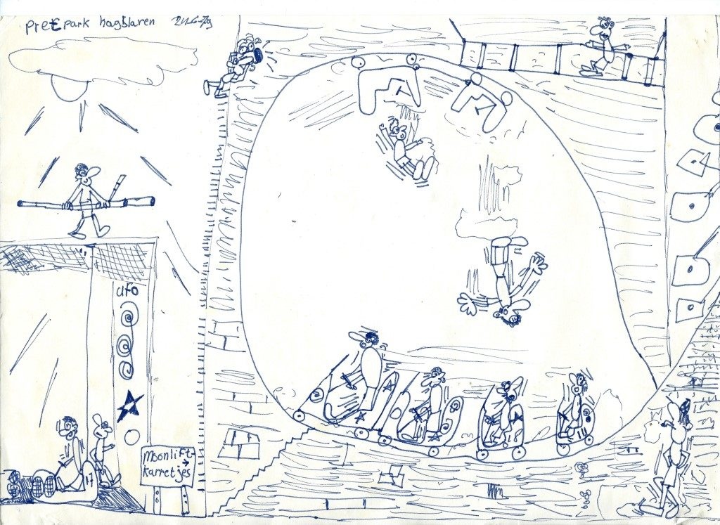 Child's drawing by Corne Akkers