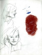 Realistic graphite pencil and conté sketches thumbnail