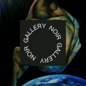 surrealistic nude oil painting called gaia promotion