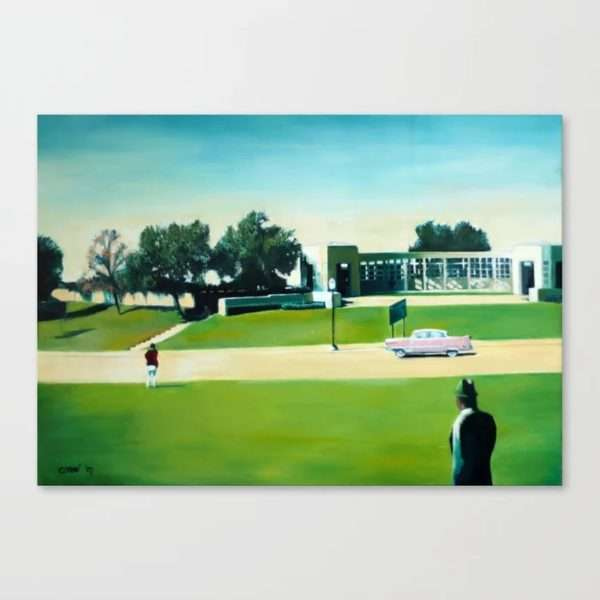 surrealistic landscape oil painting canvas print