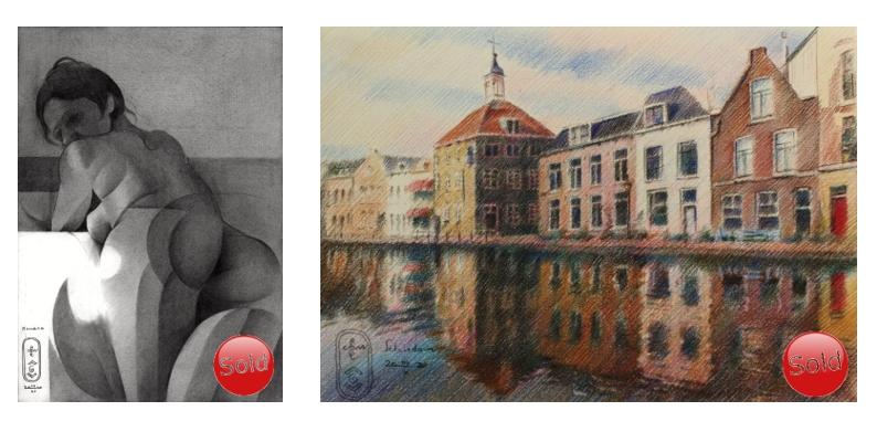 sold art works